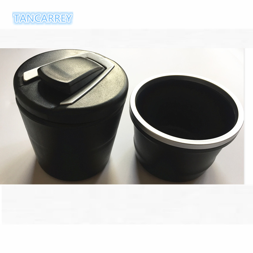 Car Ashtray Garbage Coin Storage Cup Container Cigar Ash Tray For Skoda Octavia Audi A4 B8 Fiat Punto Renault Megane 3 Opel Astr