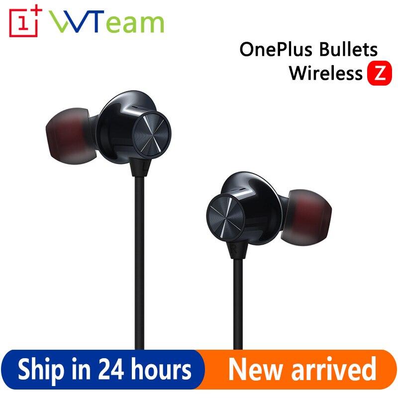 Беспроводные Bluetooth-наушники Oneplus Bullets Z с магнитным управлением для Oneplus 8 Pro