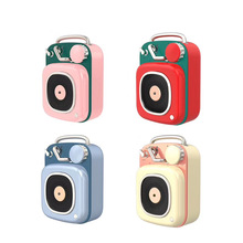 Portable Bluetooth Speaker Body-Music-Player Dosmix Mini Audio Built-In-Microphone Retro
