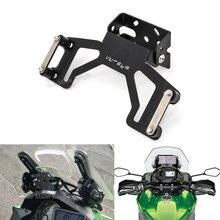 Kawasaki için 1000 VERSYS1000 2019 2020 motosiklet aksesuarları motosiklet modifiye Gps navigasyon braketi