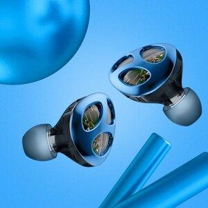 Image 3 - VJJB N30 שלוש יחידה טבעת ברזל אוזניות באוזן Bluetooth כבל בקרת רעש הפחתת HIFI סאב טלפון נייד אוניברסלי