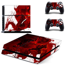 PS 4 Sticker Dragon Age Play station 4 Stickers Vinyl PS4 Skin Decals Pegatinas Adesivo For PlayStation 4 console and controller