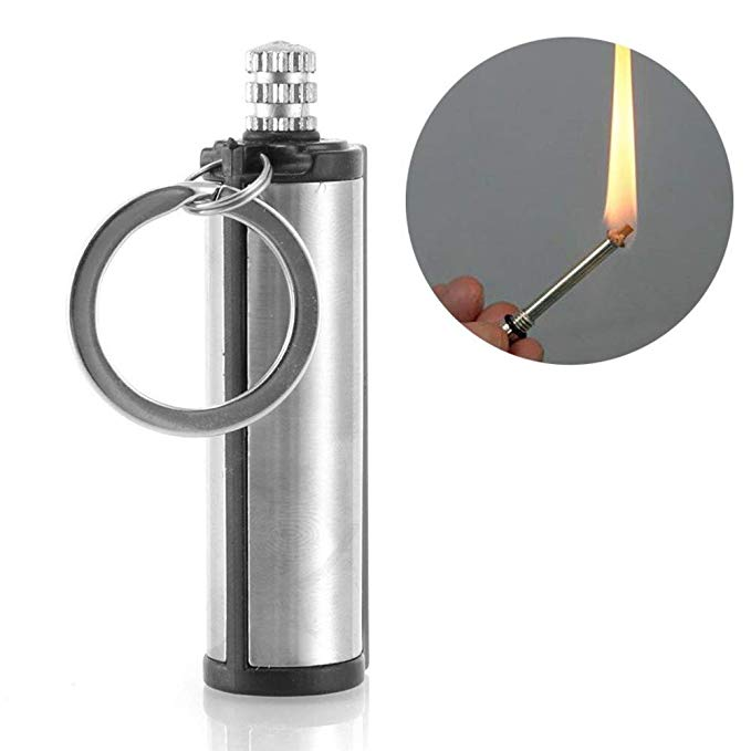 Instant Emergency Fire Starter Flint Match Lighter Lighter Metal Outdoor Hiking Camping Safety Survival Tools New