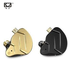 Image 3 - NEW KZ ZSN PRO X 1DD 1BA Hybrid Metal In Ear Earphone HIFI DJ Monito Running Sport Earphone Earbud KZ ZST X ZSX ZS10 PRO V90 C12