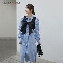Vest Short Waistcoat Vintage Black Autumn Women Fashion LANMREM And Front for Tide 2A1412