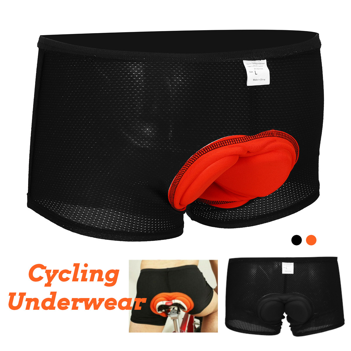 Outdoor Sport Comfortable Underwear Shorts 3D GEL Bicycle Cycling Padded Pants