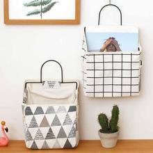 Настенная сумка для хранения книг, журналов, держатель для телефона, органайзер с подвесным крючком, органайзер для украшений, контейнер для дома и офиса
