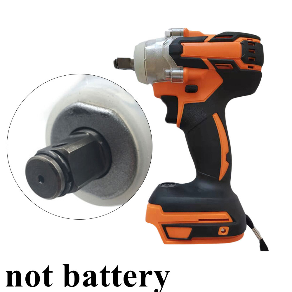 Cordless 1280W Brushless Adjustable 240-520NM Electric Hammer Drill 7