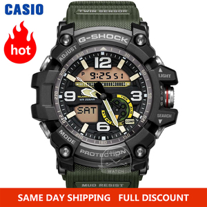 Image 1 - Zegarek Casio G SHOCK zegarek mężczyźni top luksusowy zestaw wojskowy LED relogio zegarek cyfrowy sport 200m wodoodporny zegarek kwarcowy mężczyzna zegarek masculino