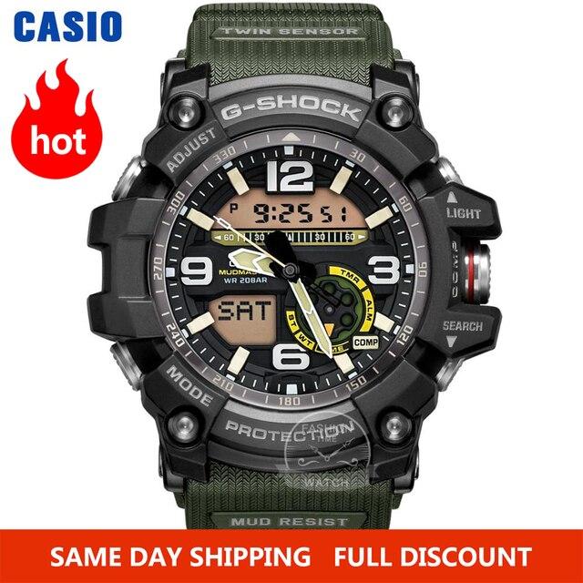 Zegarek Casio G SHOCK zegarek mężczyźni top luksusowy zestaw wojskowy LED relogio zegarek cyfrowy sport 200m wodoodporny zegarek kwarcowy mężczyzna zegarek masculino
