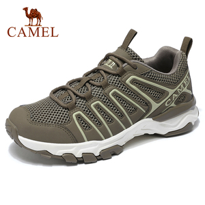 CAMEL Lightweight Comfortable Outdoor Sneakers Men shoes Sports Mesh Breathable Casual Hiking Running Jogging Shoes(China)
