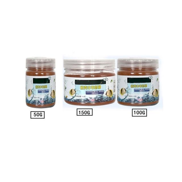 Brine Shrimp Eggs Artemia Fodder Ocean Healthy Nutrition Fish Food Feeding Fish Aquarium Supplies 50/100/150g