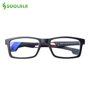 Image 2 - SOOLALA Anti Blue Light Reading Glasses Women Men Blue Light Blocking Computer Glasses Presbyopia Eyewear For Readers Dioper