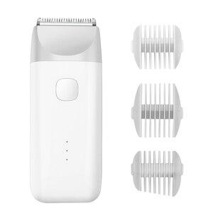 Image 1 - Xiaomi tondeuse à cheveux électrique pour hommes, rasoir professionnel sans fil, rasoir Rechargeable par USB, idéal pour couper la barbe