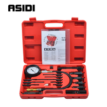 Diesel Engine Cylinder Compression Tester Professional Kit Direct Indirect Truck Auto Tools