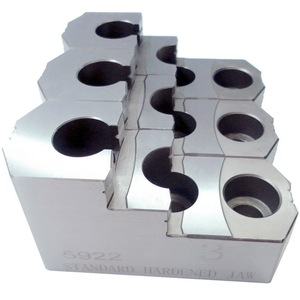 Image 2 - MOSASK 5 6 8 10 Inch  CNC Lathe Accessories Standard Hollow Collet Hydraulic Hard Jaw