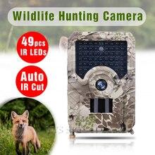 Мини камера для охоты с 49 инфракрасными светодиодами и ночным видением, 1080P, HD видео, водонепроницаемая, для улицы, для дикой природы, микро камера, камера