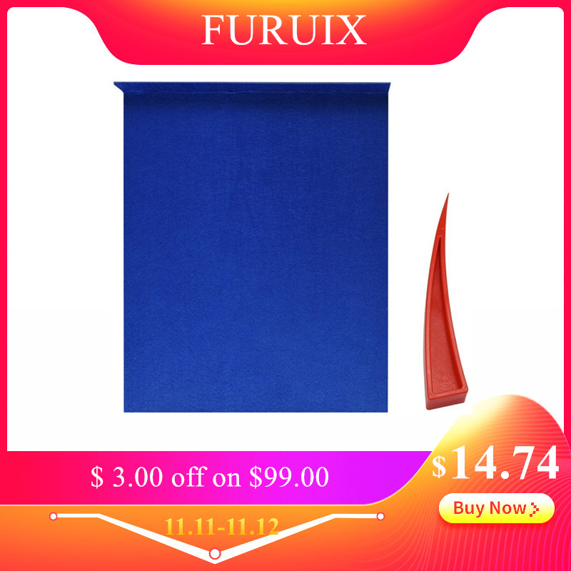 FURUIX Dent Removal Tools Window Guard Protect With Felt Window Curve Wedge For Car Repair Paintless Dent Repair Tools