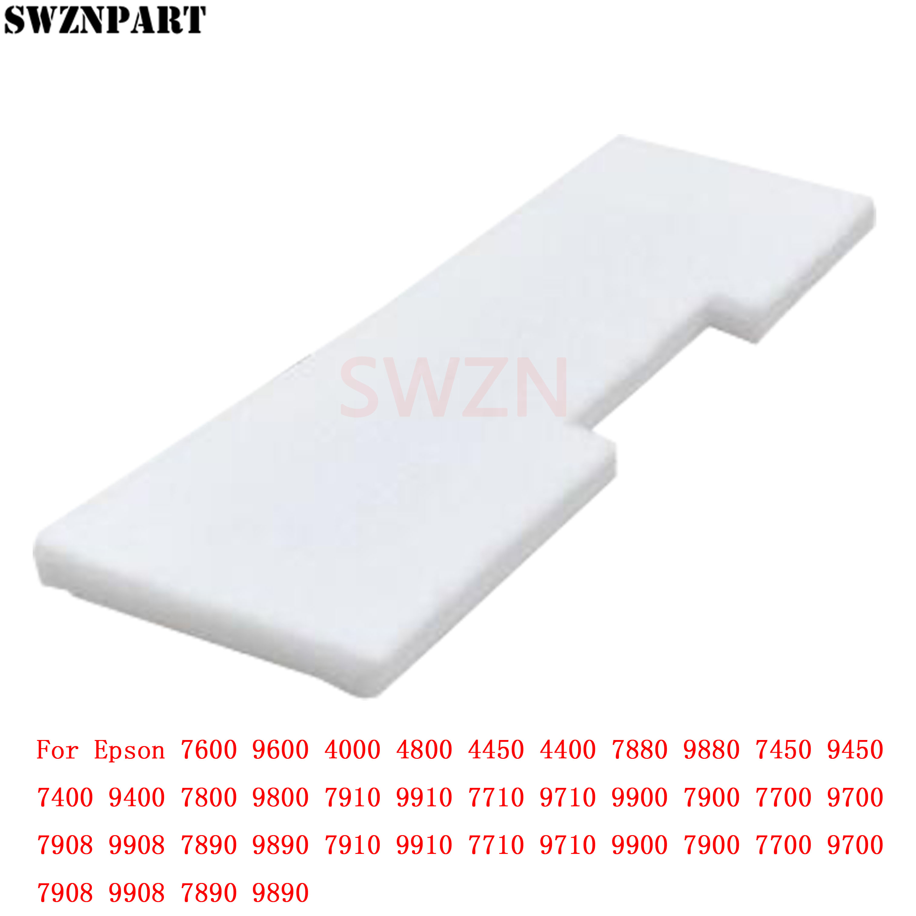 Waste Ink Tank Pad Sponge for <font><b>Epson</b></font> <font><b>7600</b></font> <font><b>9600</b></font> 4000 4800 4880 4450 4400 7880 9880 7450 9450 7400 9400 7800 9800 7910 9910 7710 image