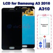 Оригинальный ЖК дисплей для samsung galaxy a3 2016 a310 a310f