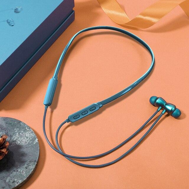 Bluetooth 5 Oortelefoon Nekband Kraag Jeugd Editie Sport Draadloze Bluetooth Headset Met Microfoon Noise Cancelling Vs Lenovo He05