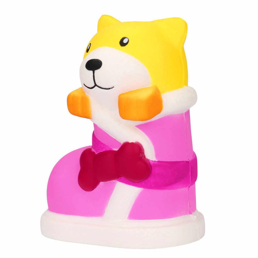 צבעוני ערבוב ענן כותנה ממתקי רפש פלסטלינה צעצועים לילדים פולימר חימר לחץ מתח רך לסחוט כיף צעצועים #