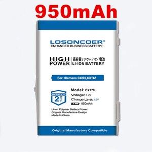 for Siemens CXI70,CXT65,CXT70,CXV65,CXV70,M65,M75,M8,S65,S65V,S66,S75,SK65,SP65,CX75,CXI65,CXO65 Battery For BenQ-Siemens M81(China)