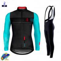 Radfahren Jersey 2020 Pro Team Gobiking Road Bike Winter Radfahren Kleidung MTB Radfahren Bib Hosen Männer Ropa Ciclismo Thermische Fleece