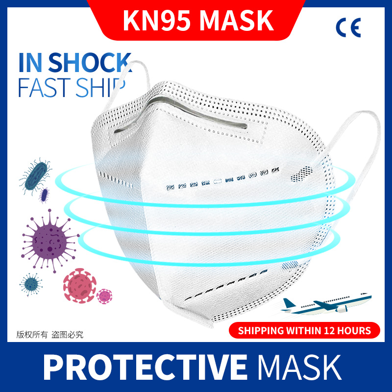 10/50 Pcs KN95 Dustproof Anti-fog And Breathable Face Masks 95% Filtration N95 Masks Mouth Mask Anti Smog Strong Protective Mask