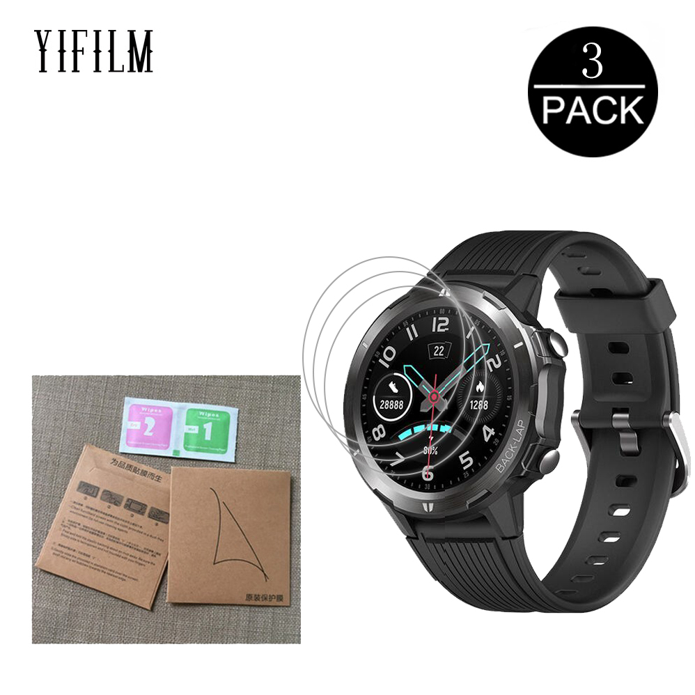 3Pcs For UMIDIGI Uwatch GT Smart Watch Nano Explosion-proof Full Screen Protector Film Uwatch GT HD Clear Film Not Glass