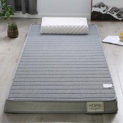 Высокоплотный матрас из латекса и пены с памятью складной моющийся напольный спальный коврик одноместный двухместный диван татами