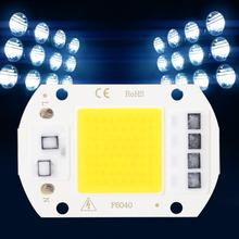 2Pcs AC 220V High Power LED Chip SMD COB Integrated Light Emitter Components 50W Lamp Beads