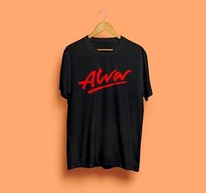Футболка для скейтборда Alva, черная новая футболка унисекс для катания на коньках, размер S 3Xl