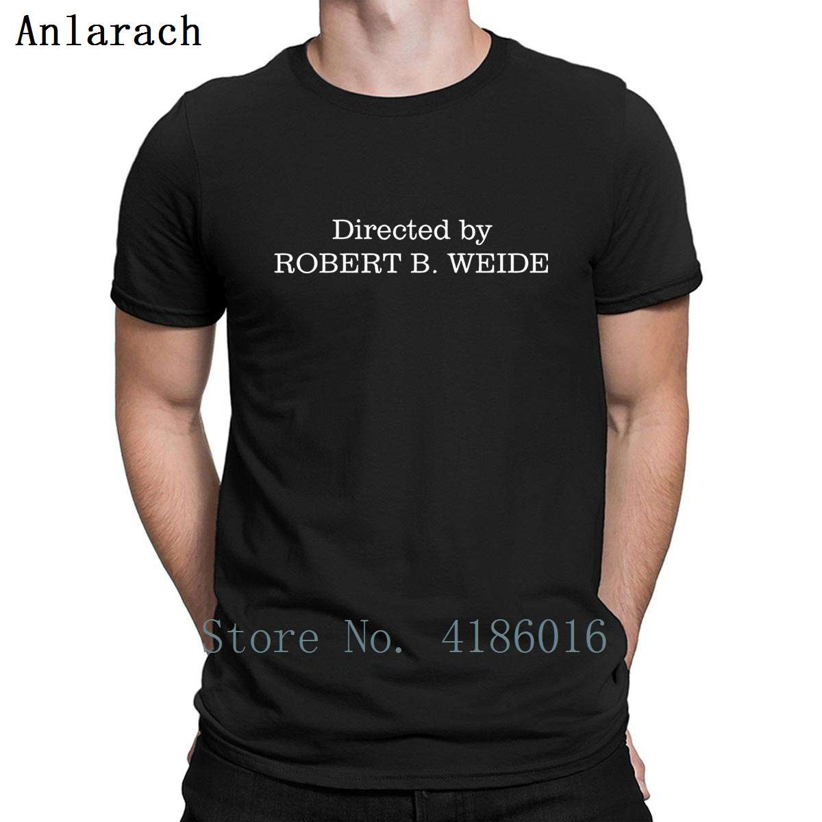 Directed By Robert B Weid T Shirt Cute Breathable Tee Shirt Summer Normal Pictures Printing Plus Size 5xl Shirt 2020 High Quali