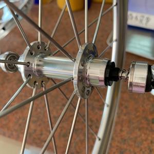 "Image 4 - SILVEROCK Alloy Wheelset 20"" 406 451Rim Caliper Brake High Profile 74 100 130 11s for Tricycle Folding Bike Minivelo Wheels"