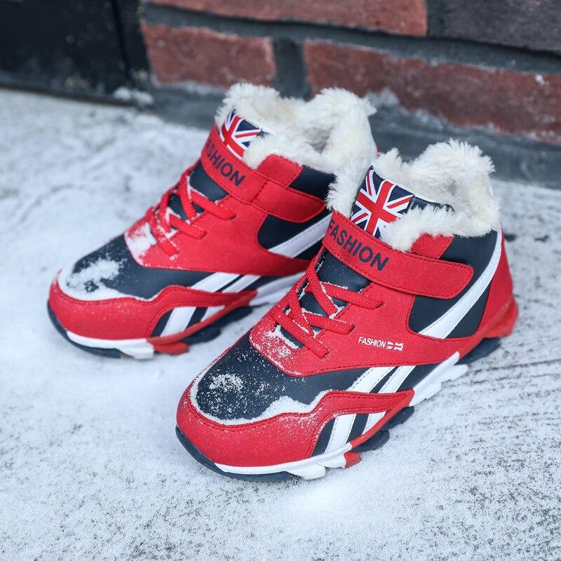 winter kids shoes outdoor boys children sneakers big kid snow boots