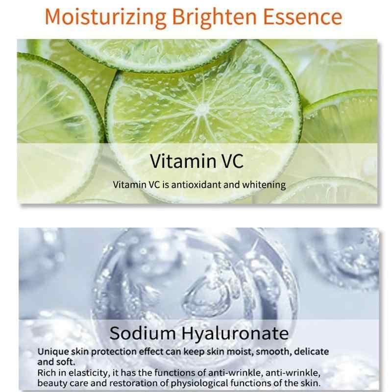 100% czysta witamina C Spray tonik rozjaśniający nawilżający Serum do twarzy zmniejszyć pory kontrola oleju wybielanie pielęgnacja skóry gorąca sprzedaż