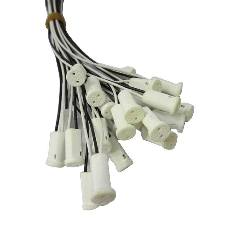 20pcs High Quality 30CM Crystal Lamp Holder Lamp Holder Socket,G4 LED/G4/Bulb Plug,12V 10-20W,Lighting Accessories