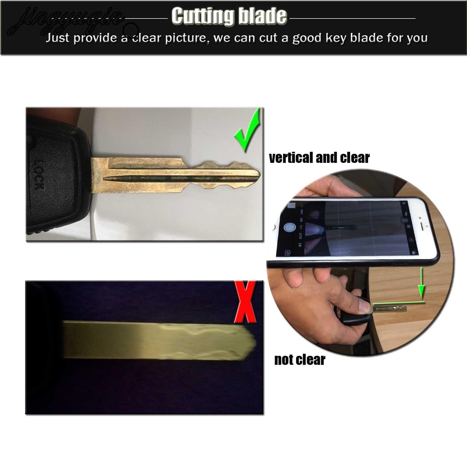 Услуги обработки jingyuqin для резки ЧПУ заготовки режущего ключа лезвия плоского фрезерования пожалуйста свяжитесь с нами перед покупкой