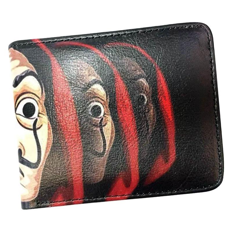 Anime Undertale mens leather wallets short leather bifold wallets Purse