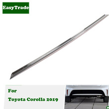 Car Styling Rear Bumper Decoration Strip Ttim For Toyota Corolla 2019 Accessories Exterior