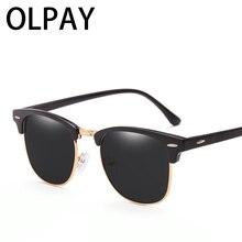 2019 New Polarized Round Sunglasses Mens Womens Brand Designer Club Glasses Classic Sun glasses Driving UV400