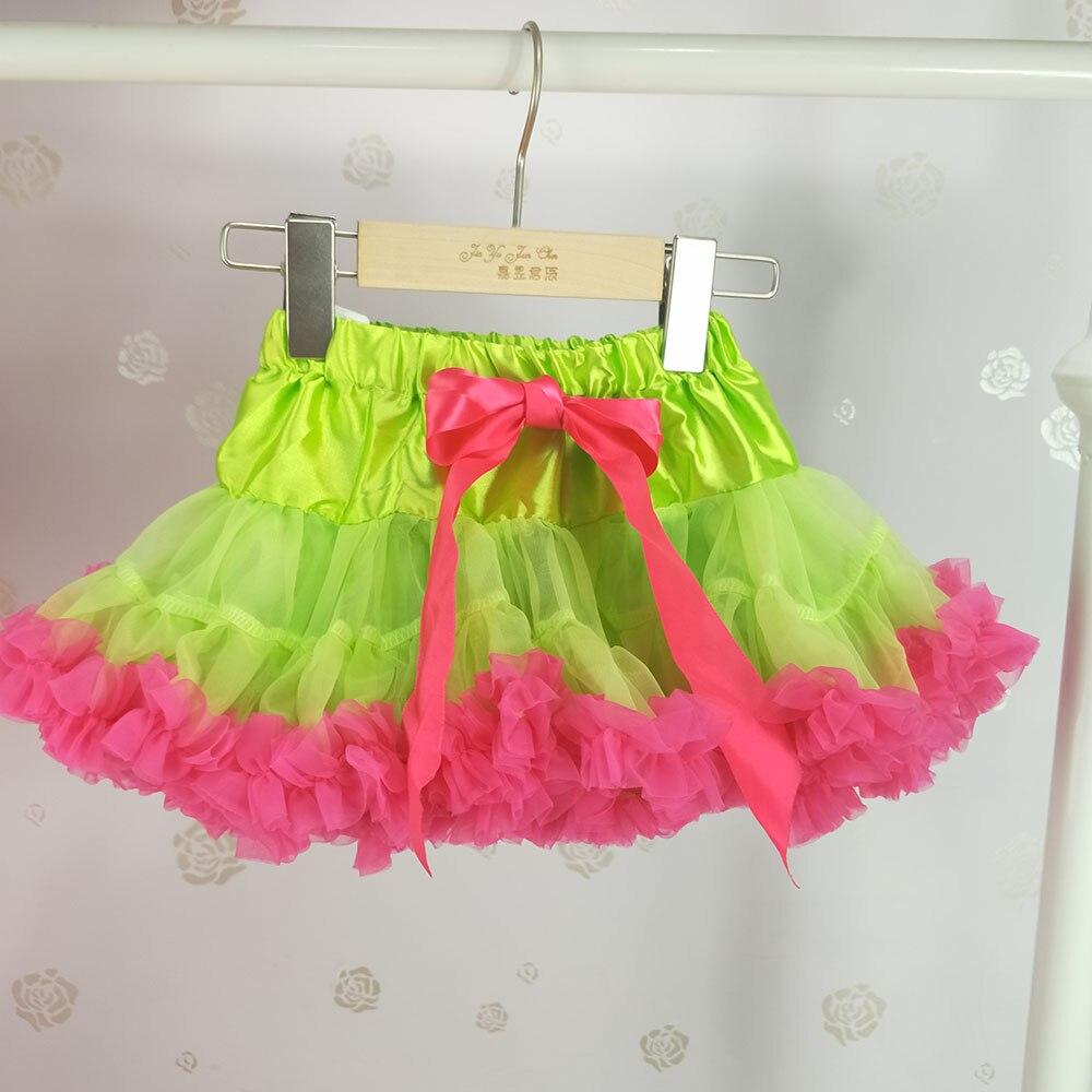 Детская юбка-пачка для девочек; пышная юбка-американка; распродажа - Цвет: Армейский зеленый
