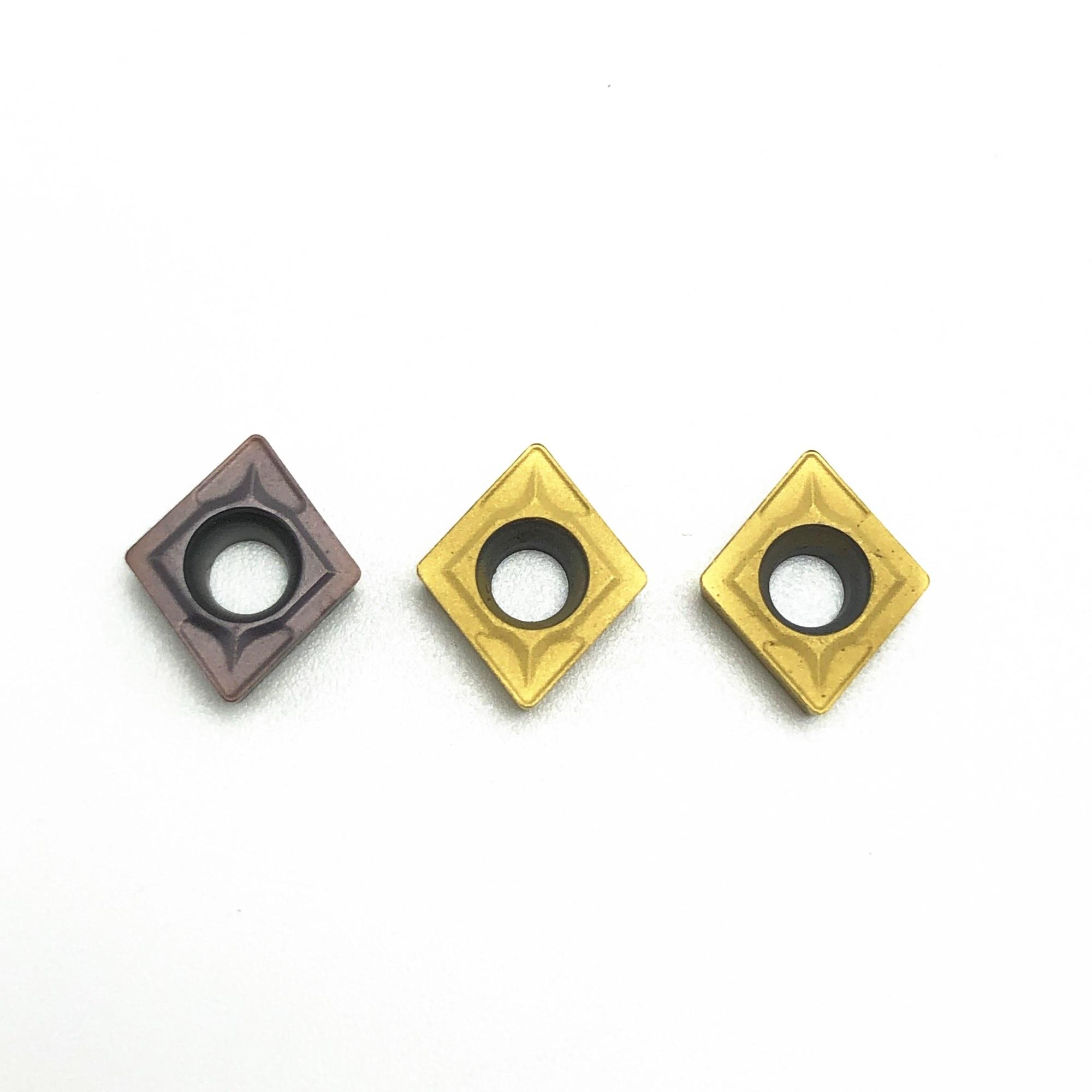 Высококачественное Карбидное лезвие для автомобиля CCMT060204 VP15TF UE6020 US735 фрезерный