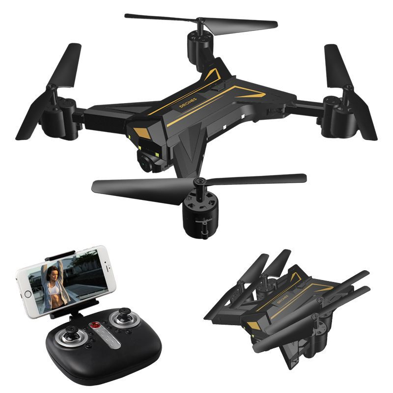 Ky601 Folding Quadcopter WiFi Real Time Drone for Aerial Photography Set High Remote Control Aircraft Transformation Image Trans|  - title=