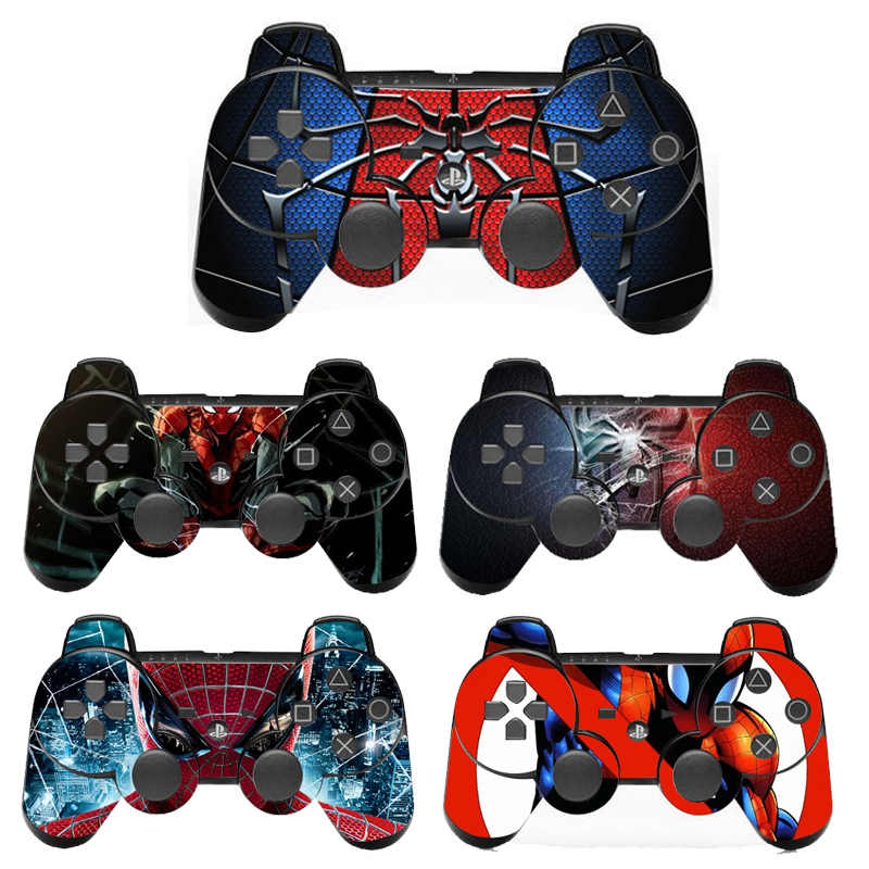 Vinyl Skin Sticker For PS3 Controller Controle Decal Gamepad Cover For Sony Playstation 3 Game Accessories
