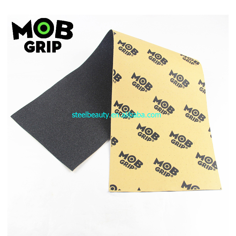 MOB Skateboard Grip Tapes Good Quality Perforated Holes Factory Storage Sell Branded Tail Order