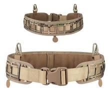 Armée Style Combat ceintures réglable entraînement ceinture libération ceinture tactique mode hommes toile ceinture chasse en plein air 3 couleurs