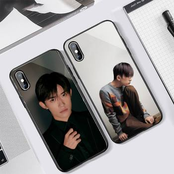 TFBOYS Jackson Yee Boy group cover funda coque Phone Case Tempered glass For iphone 5C 6 6S 7 8 plus X XS XR 11 PRO MAX image