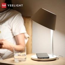 Yeelight YLCT03YL lampki nocne inteligentne WiFi dotykowy ściemniania doprowadziły bezprzewodowe ładowanie oświetlenie wewnętrzne dla iPhone